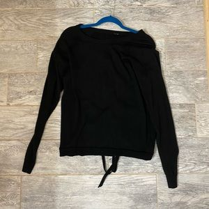 Lululemon Lace up tied to you sweater